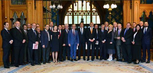 Традиционная встреча С.Лаврова с главами дипмиссий стран-членов ЕС