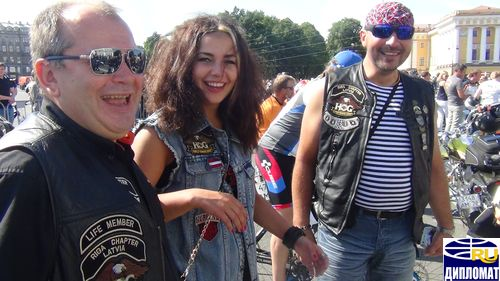 St.Petersburg Harley Days.