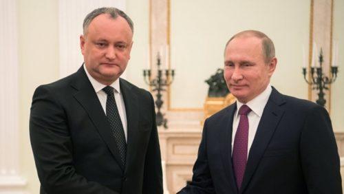 Совместная пресс-конференция президентов России и Молдовы