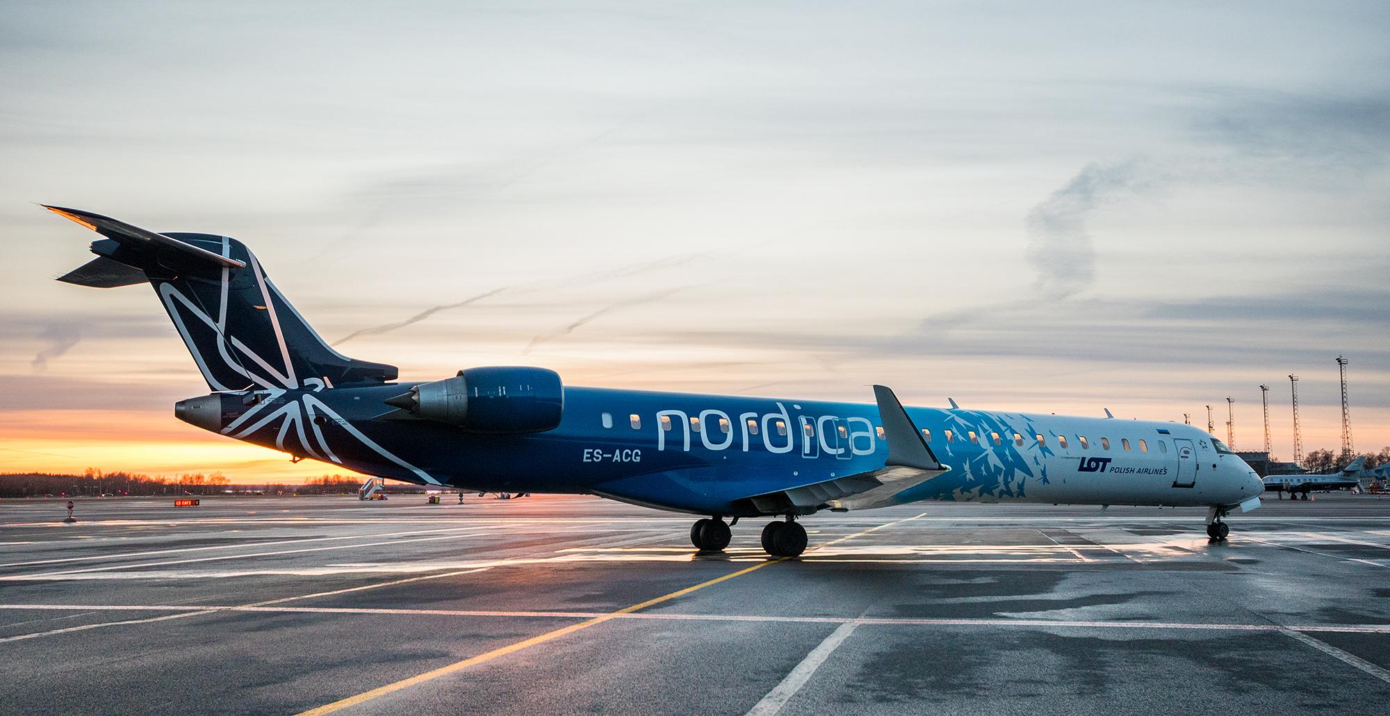 Авиакомпания Nordica открывает из Пулково рейсы в Таллинн