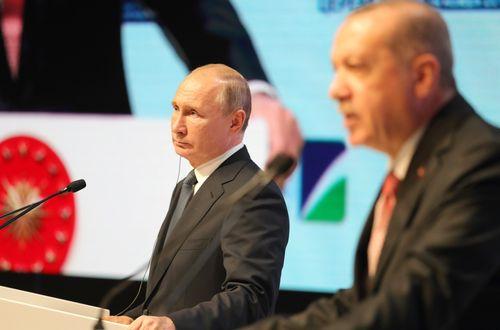 Владимир Путин Реджеп Эрдоган